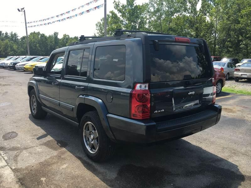 2007 Jeep Commander Sport 4dr SUV 4WD - Murphysboro IL