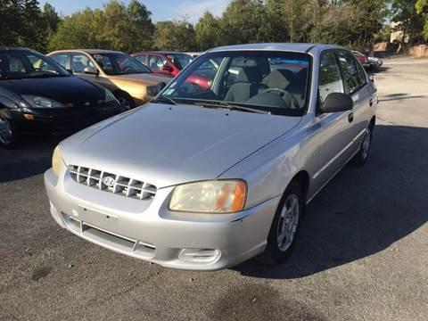 2002 Hyundai Accent for sale in Murphysboro, IL