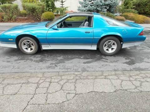 1985 Chevrolet Camaro for sale in Bremerton, WA