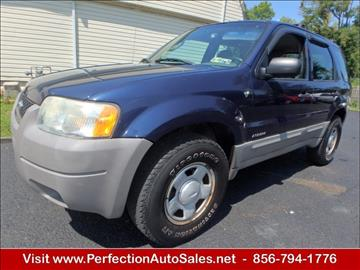 2002 Ford Escape for sale in Vineland, NJ