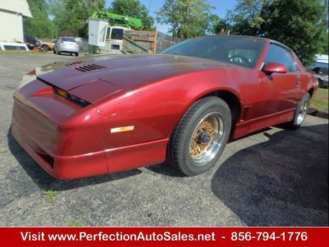 1986 Pontiac Firebird for sale in Vineland, NJ