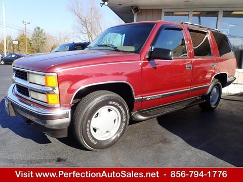 1999 Chevrolet Tahoe For Sale In Vineland NJ