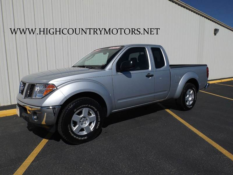 2007 nissan frontier se 4dr king cab 6 1 ft sb 4l v6 5a in mountain home ar high country motors. Black Bedroom Furniture Sets. Home Design Ideas