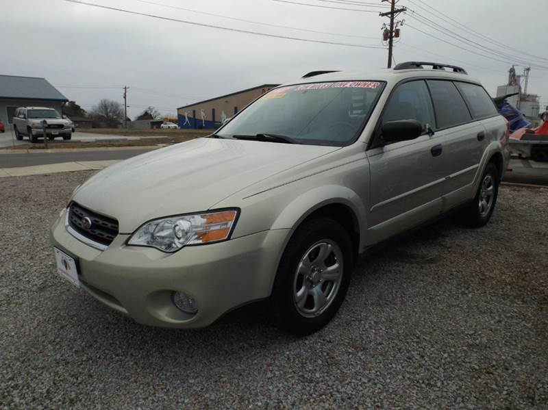 2007 subaru outback awd basic 4dr wagon 2 5l f4 4a for High country motors mountain home ar