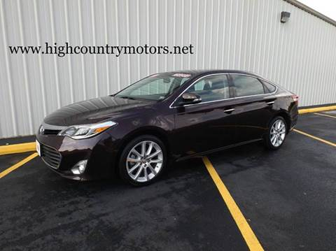 Used toyota avalon for sale arkansas for High country motors mountain home ar