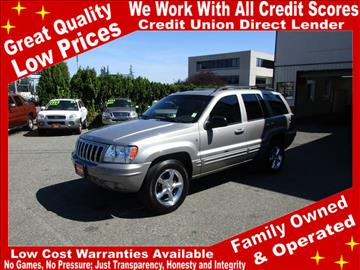 2001 Jeep Grand Cherokee for sale in Lynnwood, WA
