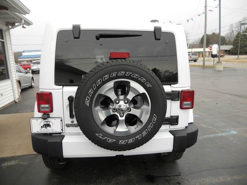 2016 Jeep Wrangler Unlimited 4x4 Sahara 4dr SUV - Manistee MI