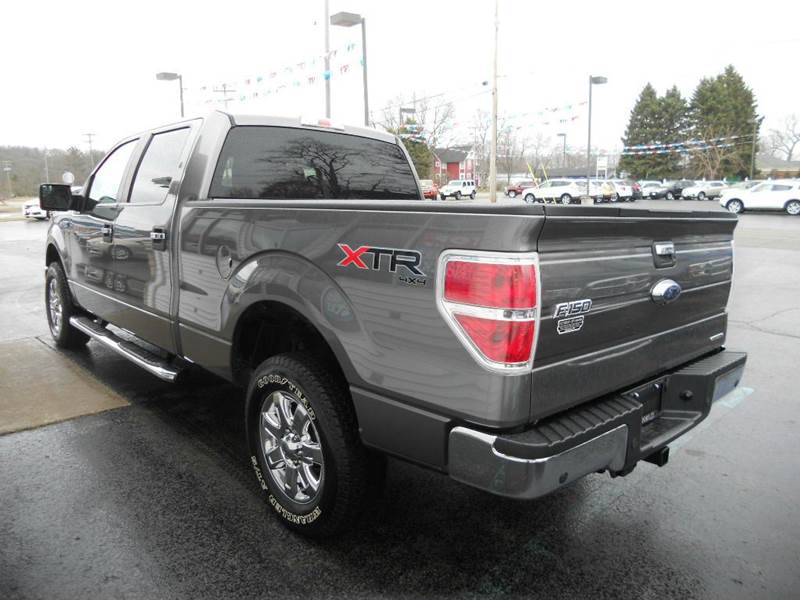 2013 Ford F-150 4x4 XLT 4dr SuperCrew Styleside 6.5 ft. SB - Manistee MI