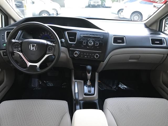 2015 Honda Civic LX 4dr Sedan CVT - Modesto CA