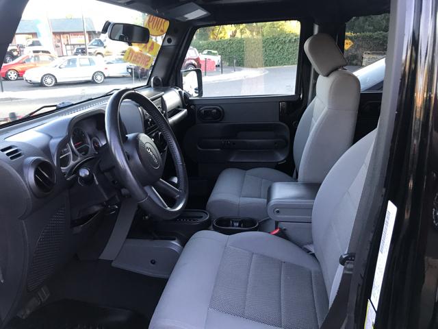 2009 Jeep Wrangler Unlimited 4x4 Rubicon 4dr SUV - Modesto CA