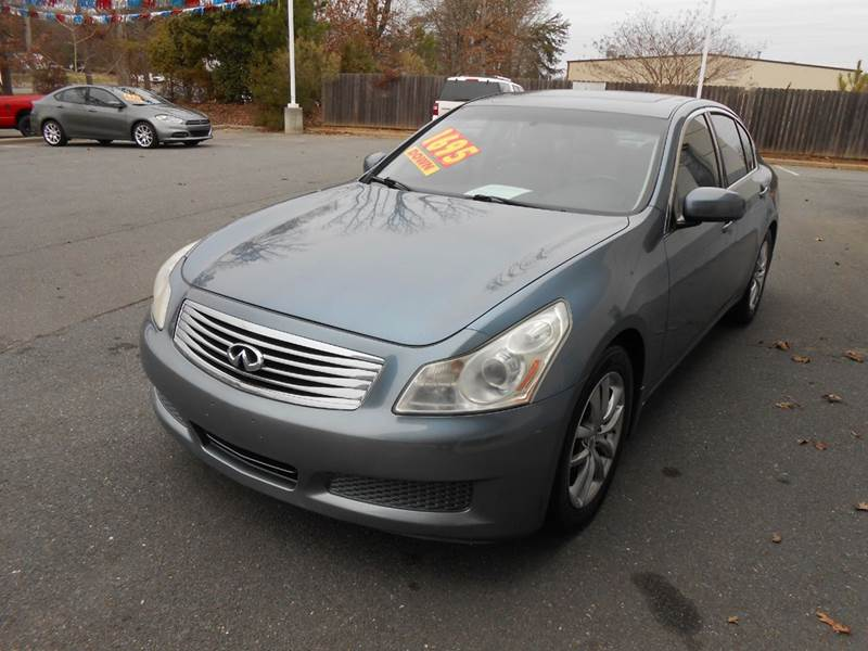 2008 infiniti g35 journey 4dr sedan in monroe nc auto. Black Bedroom Furniture Sets. Home Design Ideas
