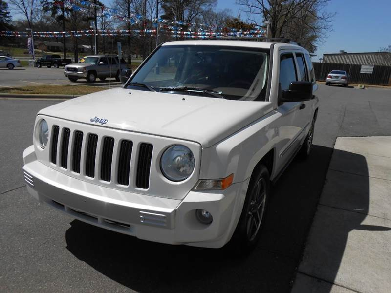 2008 jeep patriot limited 4dr suv w cj1 side airbag. Black Bedroom Furniture Sets. Home Design Ideas