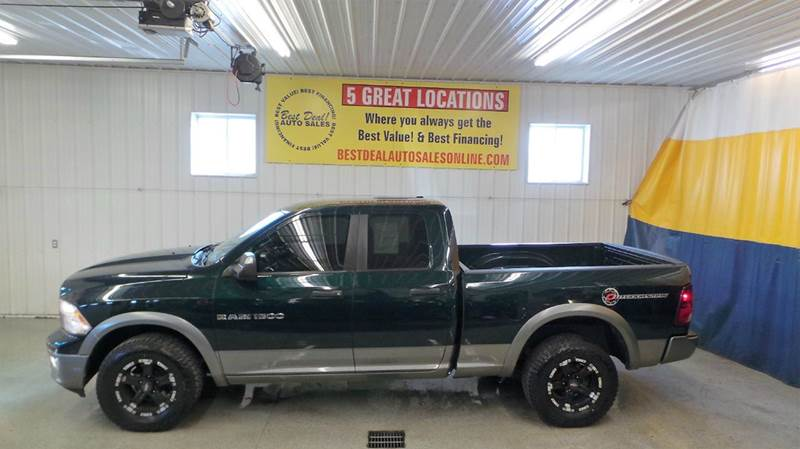 2011 RAM Ram Pickup 1500 4x4 Outdoorsman 4dr Quad Cab 6.3 ft. SB Pickup - Auburn IN
