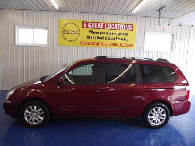 used 2008 kia sedona in fort wayne in at best deal auto sales inc. Black Bedroom Furniture Sets. Home Design Ideas