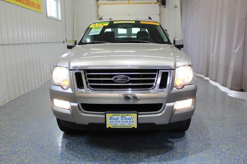 2008 Ford Explorer Sport Trac 4x4 Limited 4dr Crew Cab (V6) - Fort Wayne IN