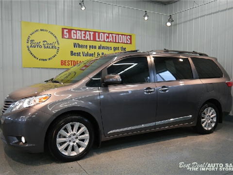 2015 toyota sienna for sale kingsport tn. Black Bedroom Furniture Sets. Home Design Ideas