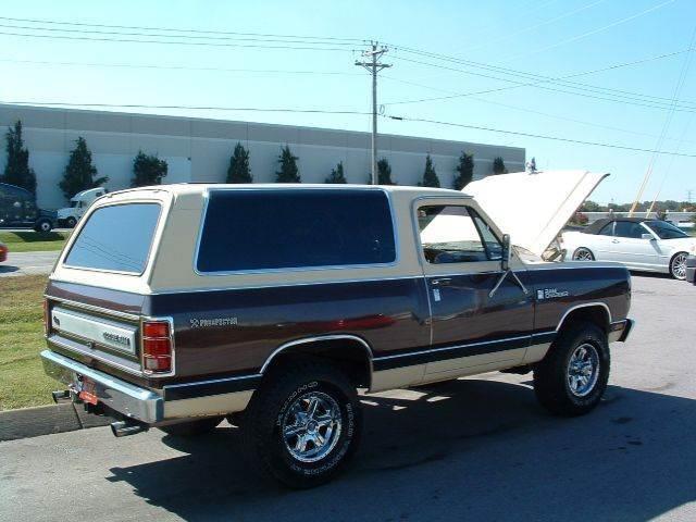 1982 Dodge Ramcharger