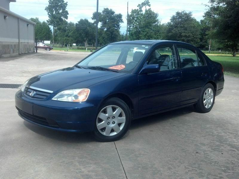 2002 honda civic ex manual sedan