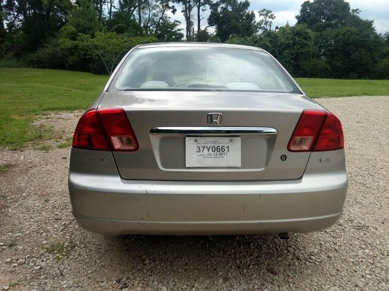 2001 Honda Civic LX 4dr Sedan - Spring TX