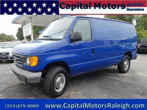 Cargo Vans For Sale Raleigh Nc
