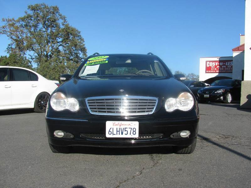 2002 mercedes benz c class c320 4dr wagon in roseville ca. Black Bedroom Furniture Sets. Home Design Ideas