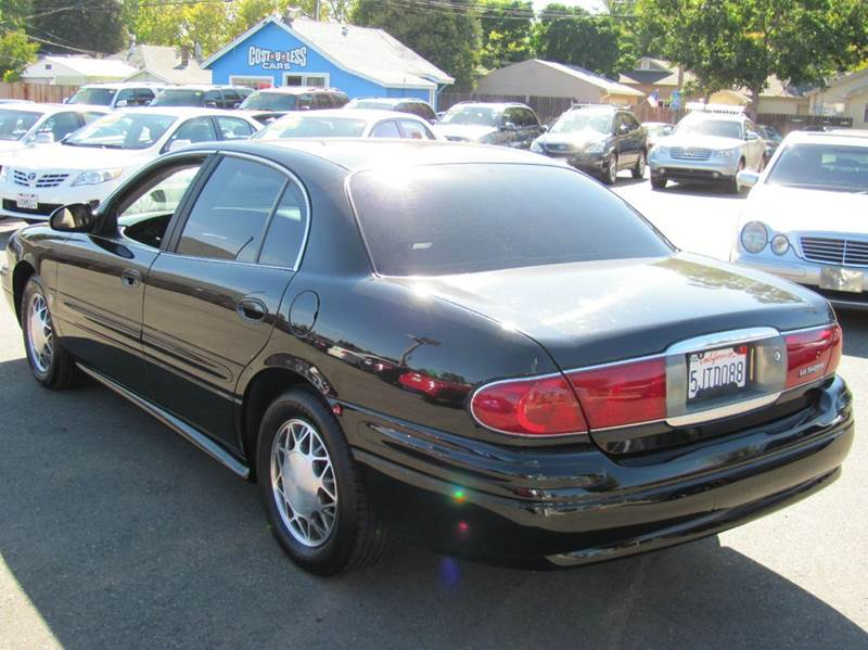 2004 buick lesabre custom 4dr sedan in roseville ca cost. Black Bedroom Furniture Sets. Home Design Ideas