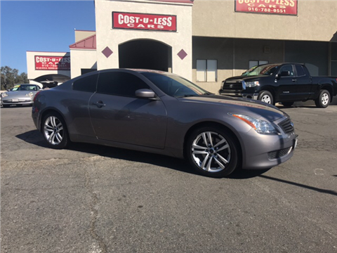 2010 Infiniti G37 Coupe for sale in Roseville, CA