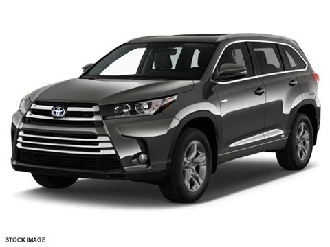 2017 Toyota Highlander Hybrid for sale in Chattanooga, TN