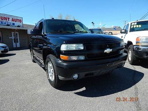 2004 Chevrolet Tahoe for sale in Clearfield, UT