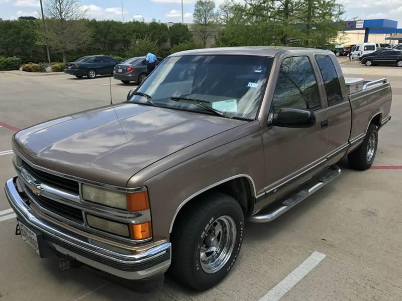 1996 Chevrolet C/K 1500 Series C1500 Silverado 2dr Extended Cab SB - Richardson TX