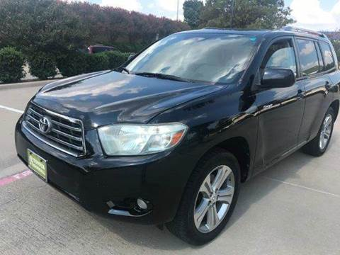 2008 Toyota Highlander for sale in Richardson, TX
