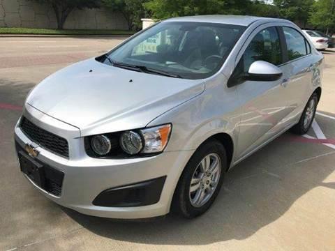2015 Chevrolet Sonic for sale in Richardson, TX