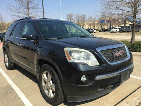 2009 GMC Acadia for sale in Richardson, TX