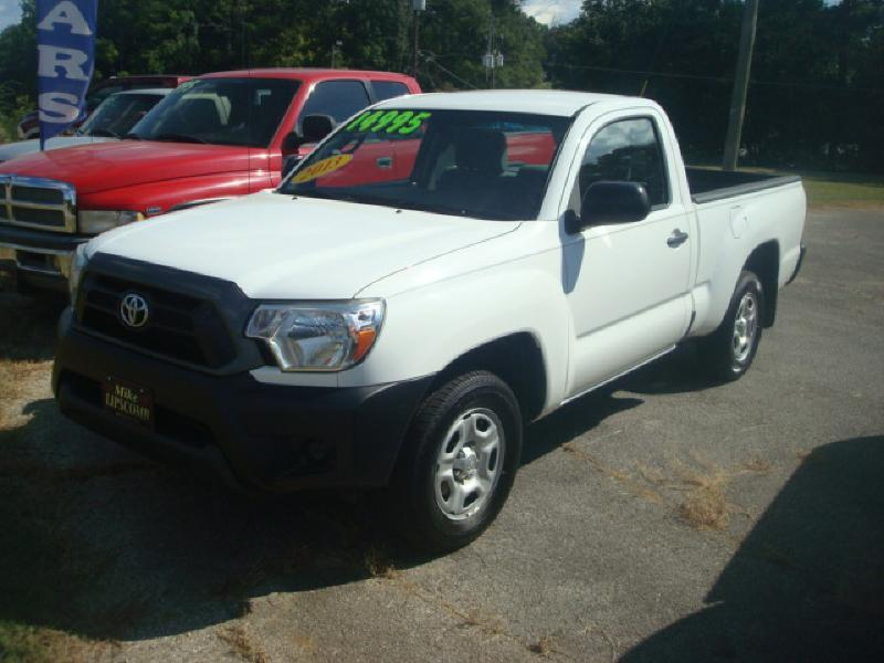 2013 toyota tacoma 4x2 2dr regular cab 6 1 ft sb 4a in anniston al mike lipscomb auto sales. Black Bedroom Furniture Sets. Home Design Ideas
