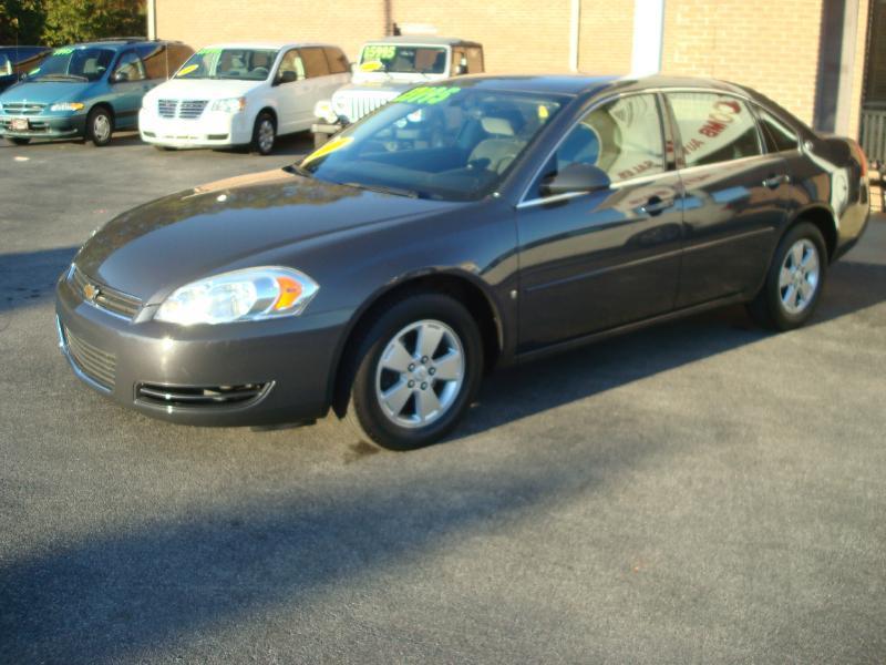 2008 Chevrolet Impala LT 4dr Sedan w/ roof rail curtain delete - Anniston AL