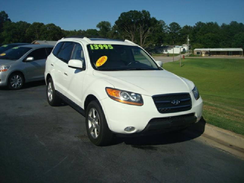 2009 hyundai santa fe se 4dr suv in anniston al mike. Black Bedroom Furniture Sets. Home Design Ideas