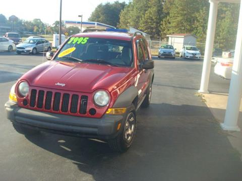 2007 Jeep Liberty for sale in Anniston, AL