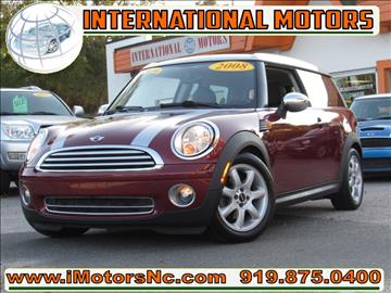 2008 mini cooper for sale north carolina for Star motors mooresville nc