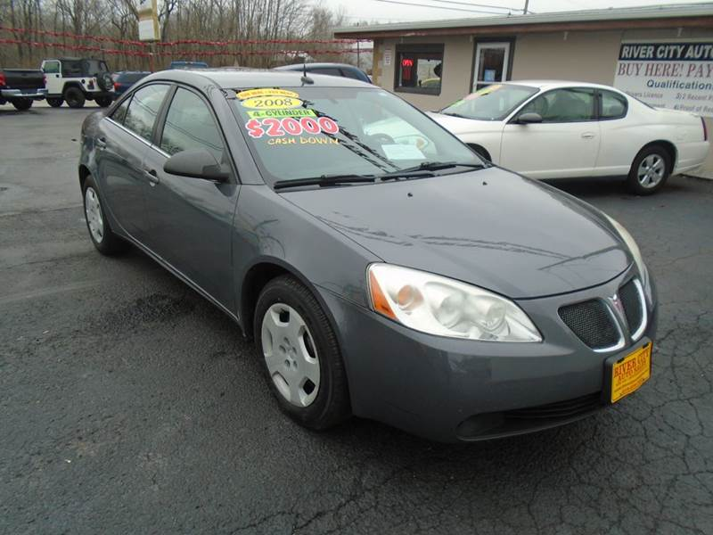 2008 Pontiac G6 4dr Sedan - Cottage Hills IL
