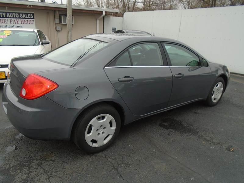 2008 Pontiac G6 Value Leader 4dr Sedan - Cottage Hills IL