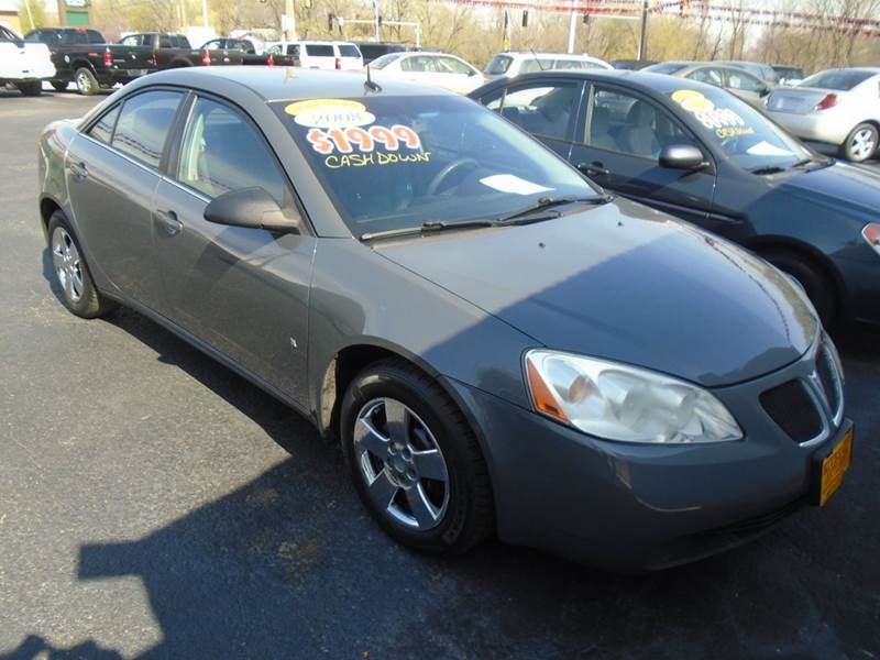 2008 Pontiac G6 Value Leader 4dr Sedan - Cottage Hills IL