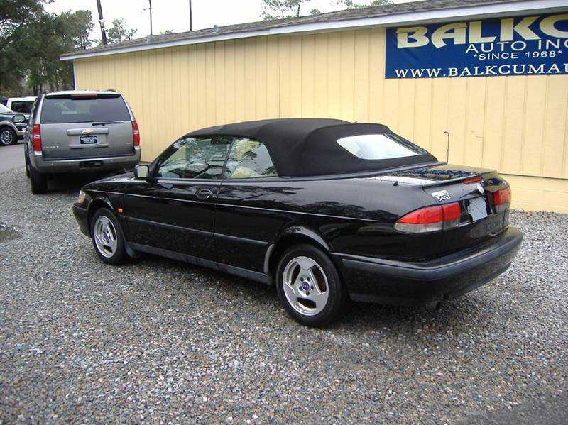 1999 saab 9 3 2dr turbo convertible in wilmington nc balkcum auto since 1968. Black Bedroom Furniture Sets. Home Design Ideas