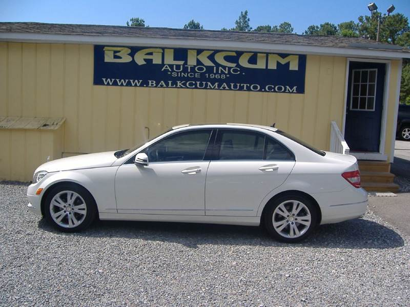 2011 mercedes benz c class awd c300 luxury 4matic 4dr for Mercedes benz of wilmington nc