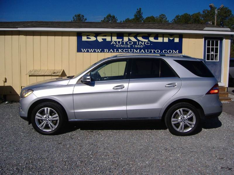 2013 mercedes benz m class ml350 4dr suv in wilmington nc for Mercedes benz nc