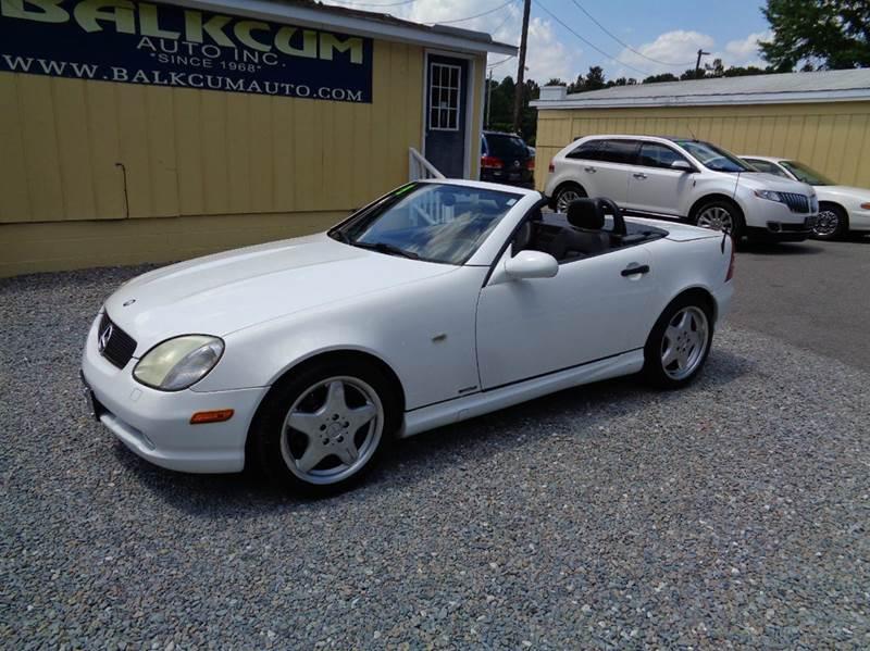 1999 Mercedes Benz Slk Slk 230 Sport Supercharged 2dr