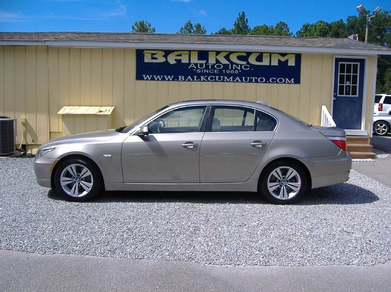 2010 bmw 5 series 528i 4dr sedan in wilmington nc. Black Bedroom Furniture Sets. Home Design Ideas