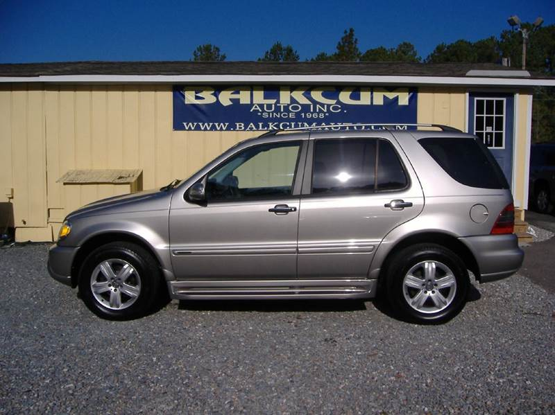 2005 mercedes benz m class awd ml350 4matic 4dr suv in for 2005 mercedes benz ml350