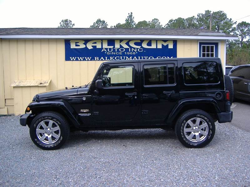 2012 Jeep Wrangler Unlimited 4x4 Sahara 4dr Suv In Wilmington Nc