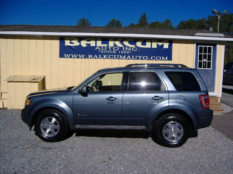 2010 ford escape hybrid limited hybrid 4dr suv in wilmington nc balkcum auto since 1968. Black Bedroom Furniture Sets. Home Design Ideas