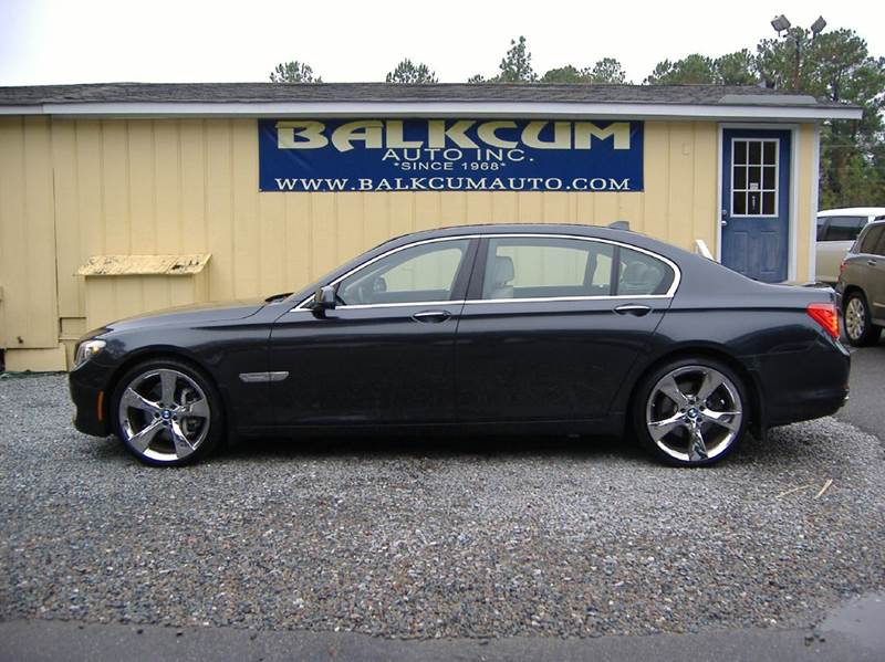 2011 bmw 7 series 740li 4dr sedan in wilmington nc. Black Bedroom Furniture Sets. Home Design Ideas